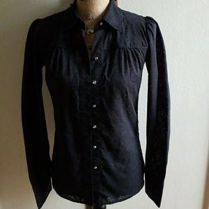 Daytrip button down long sleeve shirt